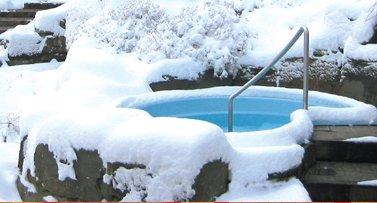 Abkühlung pur: im Schneeparadies