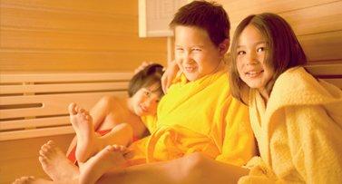Mit Kindern In Die Sauna