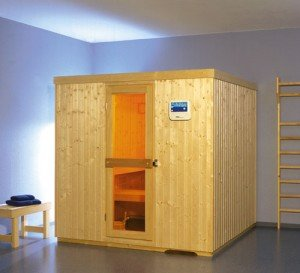 teka sauna zu hause. Black Bedroom Furniture Sets. Home Design Ideas