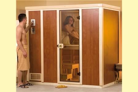 weka sauna zu hause. Black Bedroom Furniture Sets. Home Design Ideas