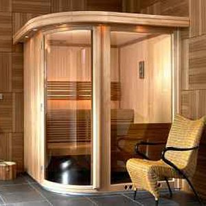 saunabau m ther sauna zu hause. Black Bedroom Furniture Sets. Home Design Ideas