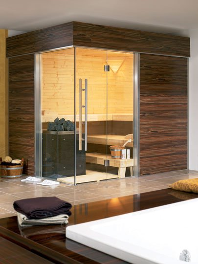 die sch nsten privaten saunabeispiele sauna zu hause. Black Bedroom Furniture Sets. Home Design Ideas