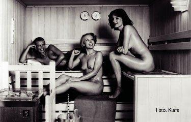 Sauna damals