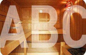 Das Sauna ABC