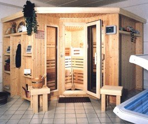 hofmann sauna sauna zu hause. Black Bedroom Furniture Sets. Home Design Ideas