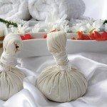 Kräuterstempel für die Sauna