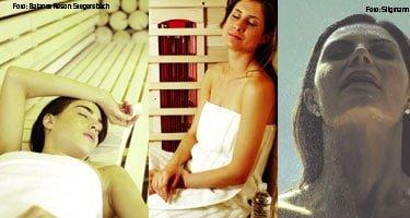 Sauna, Infrarot und Dampfbad