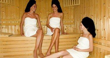 Die Sauna aktuell