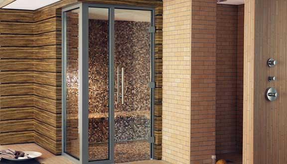 klafs sauna zu hause. Black Bedroom Furniture Sets. Home Design Ideas