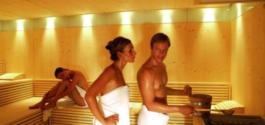 Die Sauna im Hotel Larimar