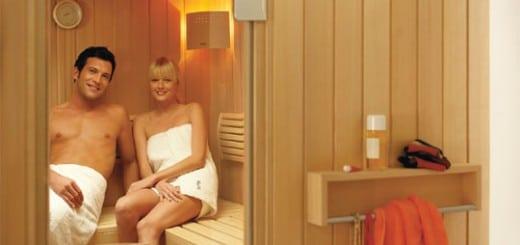 ökologisch relaxen in der Sauna