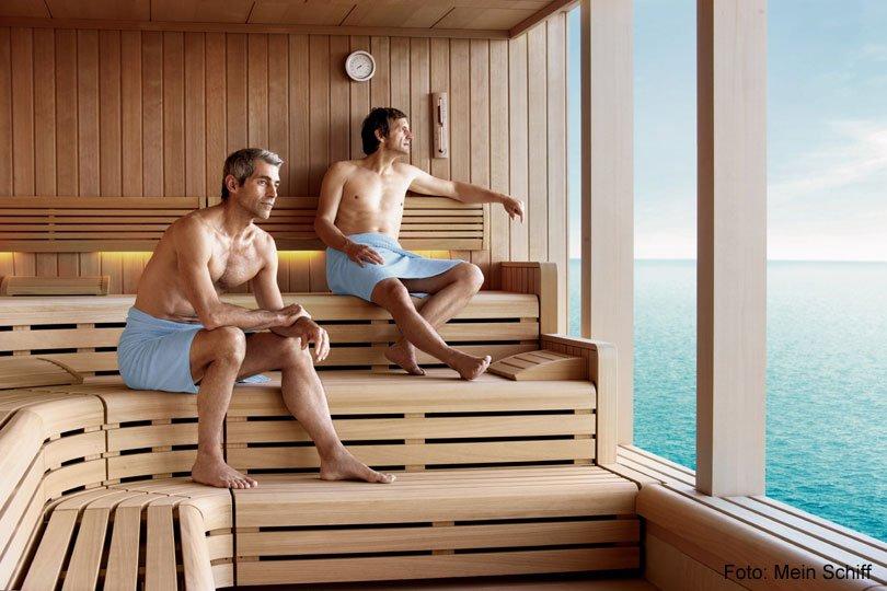 Sauna an Bord