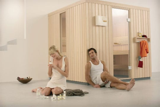 dufte sauna sauna zu hause. Black Bedroom Furniture Sets. Home Design Ideas