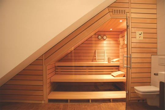 bessere aussichten sauna zu hause. Black Bedroom Furniture Sets. Home Design Ideas