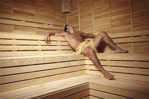 Wie Mann gerne sauniert