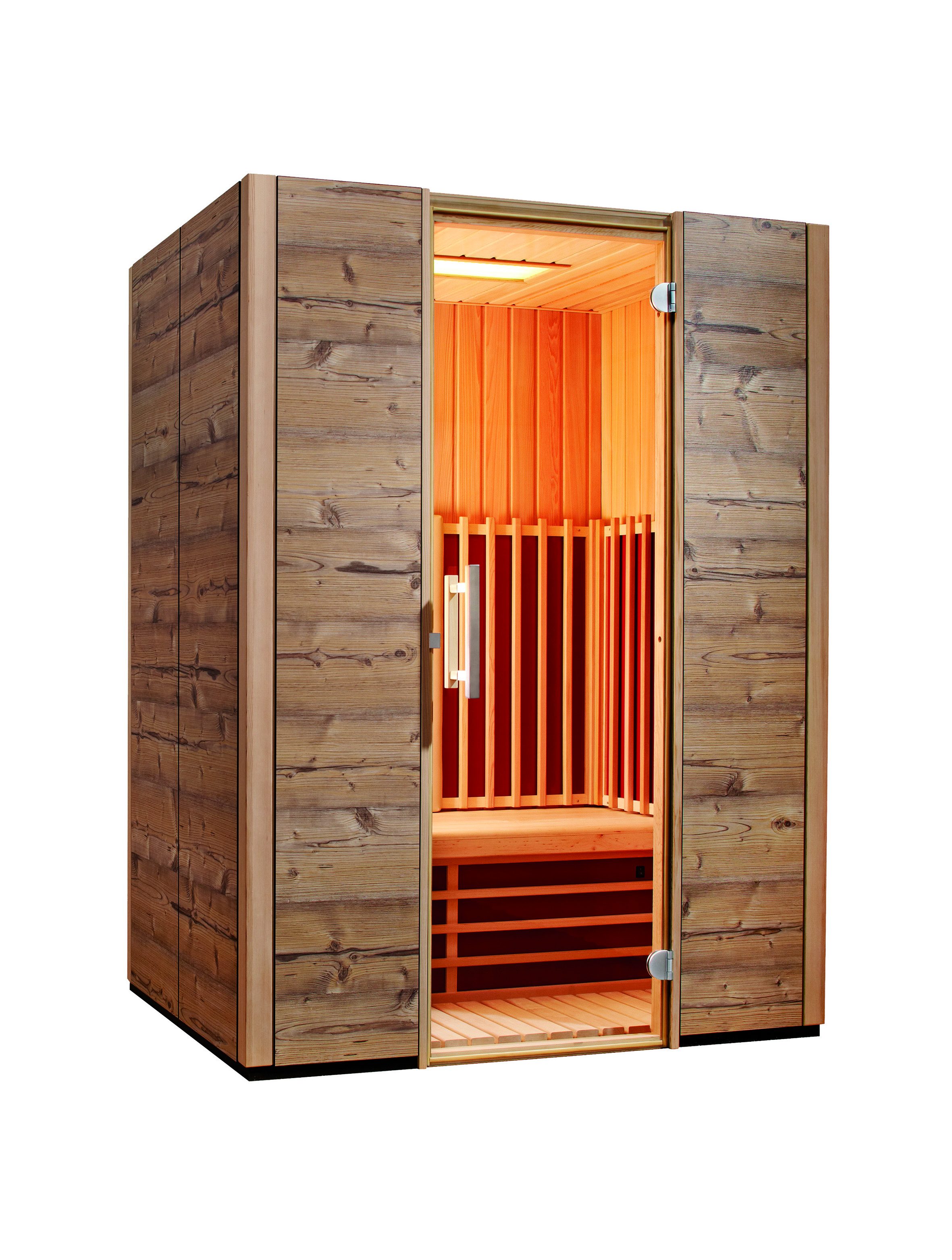 video triosol sauna zu hause. Black Bedroom Furniture Sets. Home Design Ideas