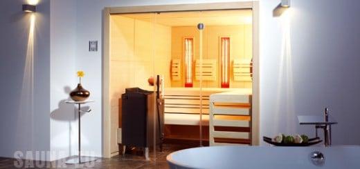 mosaik im saunabereich sauna zu hause. Black Bedroom Furniture Sets. Home Design Ideas