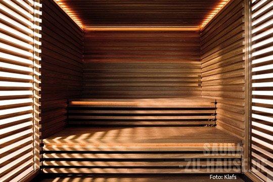 ein gef hl von geborgenheit sauna zu hause. Black Bedroom Furniture Sets. Home Design Ideas