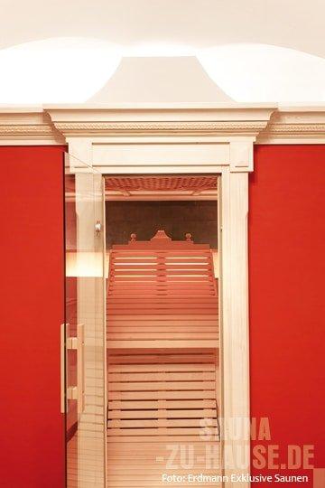 majest tisch schwitzen sauna zu hause. Black Bedroom Furniture Sets. Home Design Ideas