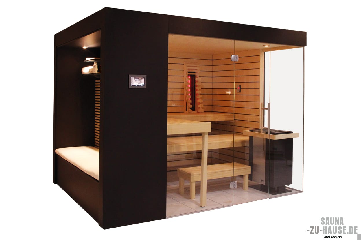 erholung hoch zwei sauna zu hause. Black Bedroom Furniture Sets. Home Design Ideas