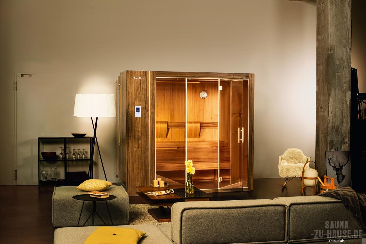 Klafs S1 Die Sauna Fürs Wohnzimmer