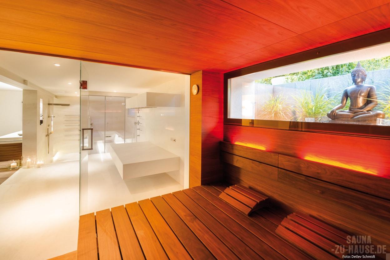 die wellness verwandlung sauna zu hause. Black Bedroom Furniture Sets. Home Design Ideas