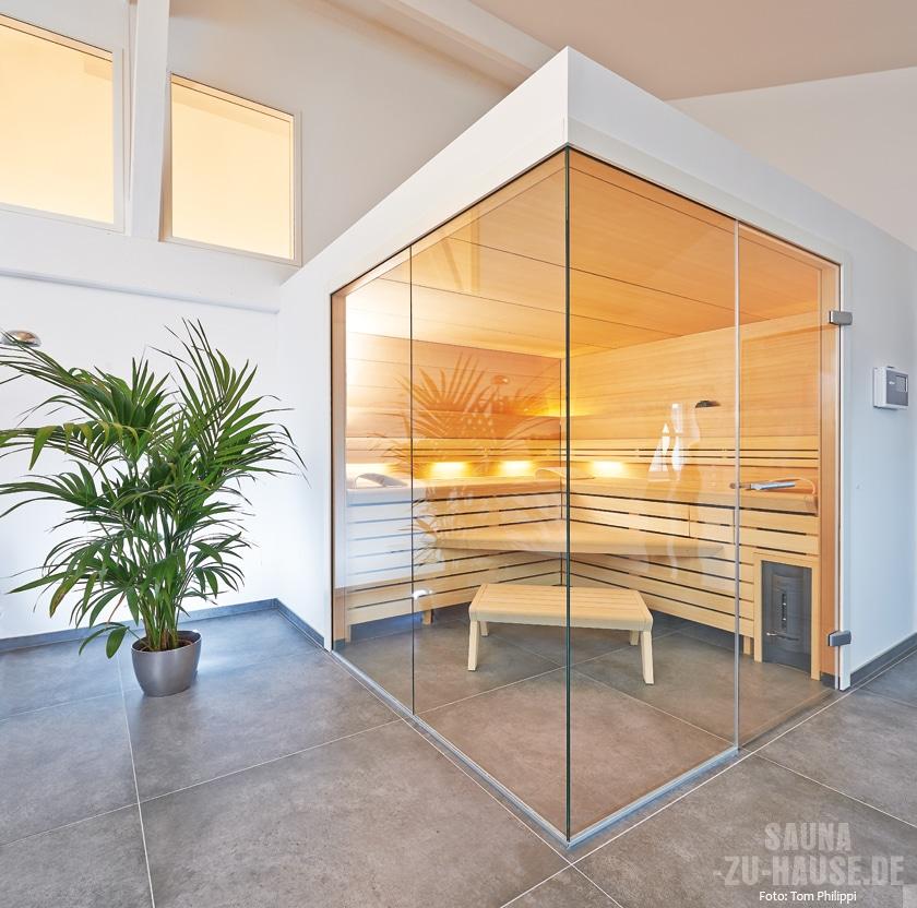 Da Verwundert Es Nicht, Dass Seine Auf Maß Angefertigte Klafs Design Sauna  Genau In Diesen Punkten Besonders Heraussticht.
