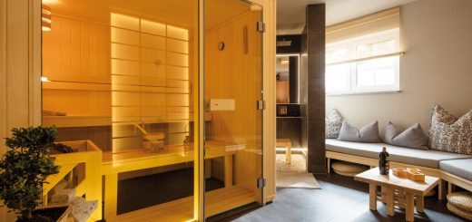 wellness im w rfel sauna zu hause. Black Bedroom Furniture Sets. Home Design Ideas