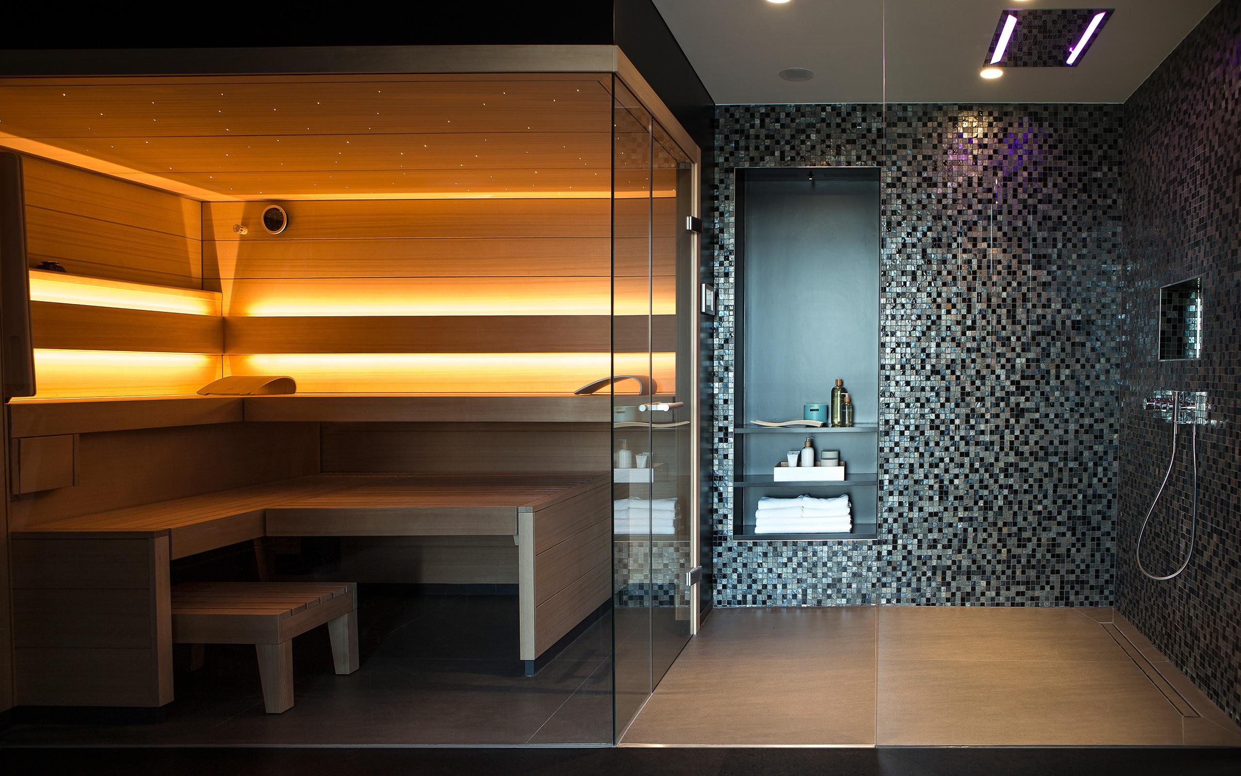 Bemerkenswert Sauna Für Zuhause Foto Von Design Muss Sein!