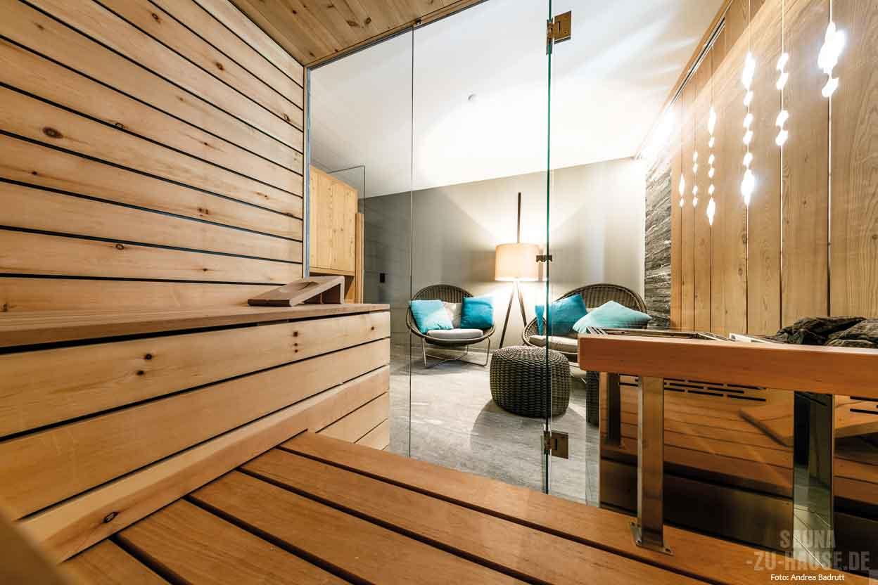 Natural chic | Sauna-zu-Hause