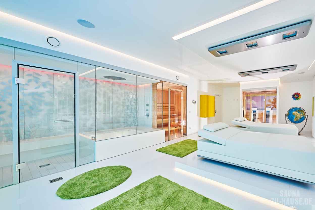 eintreten und abschalten sauna zu hause. Black Bedroom Furniture Sets. Home Design Ideas