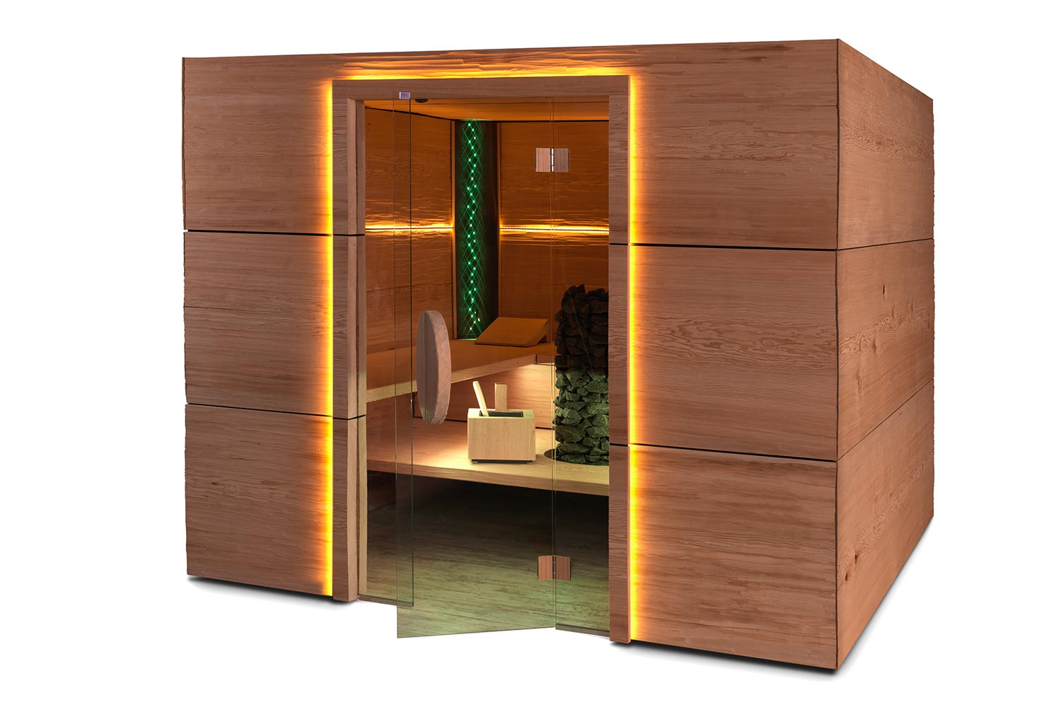 fechner erh lt 3 design auszeichnungen sowie ein g tesiegel f r ein saunadesign sauna zu hause. Black Bedroom Furniture Sets. Home Design Ideas