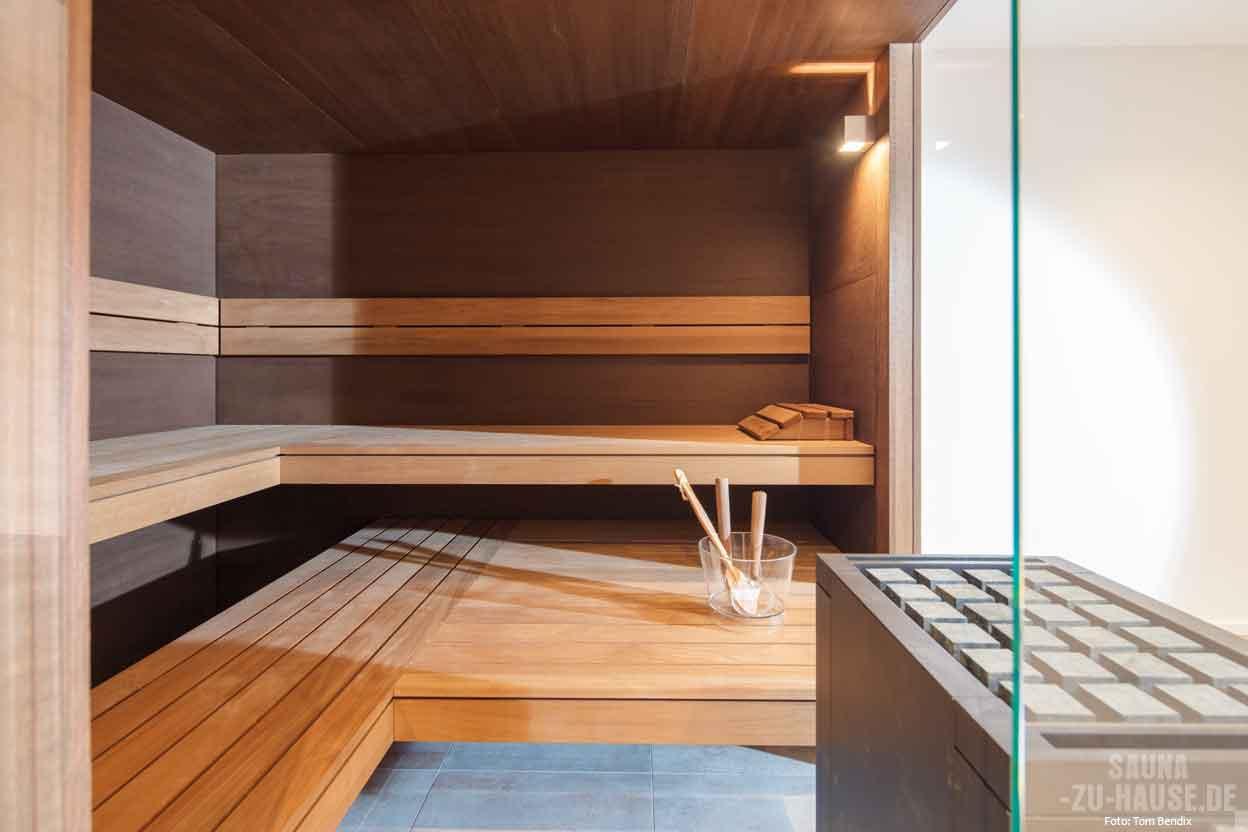 Sonne, Mond und Sauna   Sauna-zu-Hause