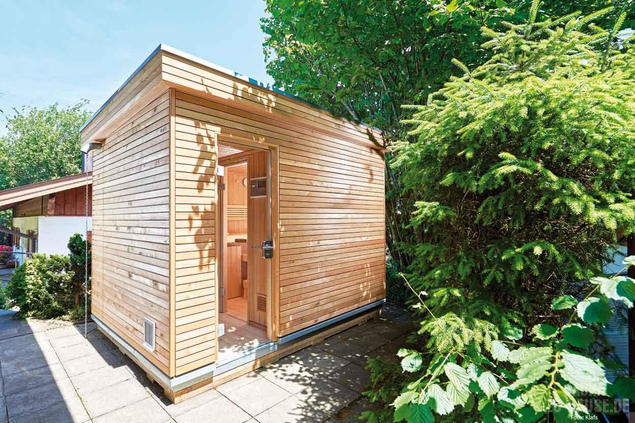 sauna im garten smartstore. Black Bedroom Furniture Sets. Home Design Ideas