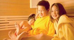 Mit Kindern in die Sauna?