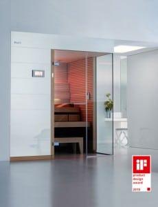Sauna gewinnt Design-Award