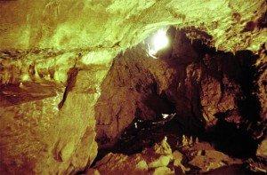 Schwitzbad in der Höhlensauna