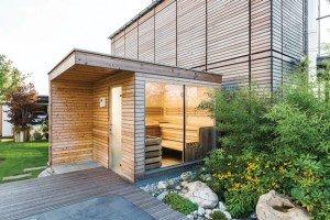 Sommer, Seeblick und Sauna