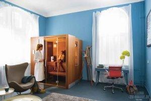 Sauna und Trockensalzinhalation gegen das Coronavirus